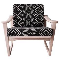 Bohemian armchair,  Finn Juhl, M. Nissen for Pastoe, 1960s.