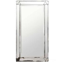 Mirror with Mirror Frame