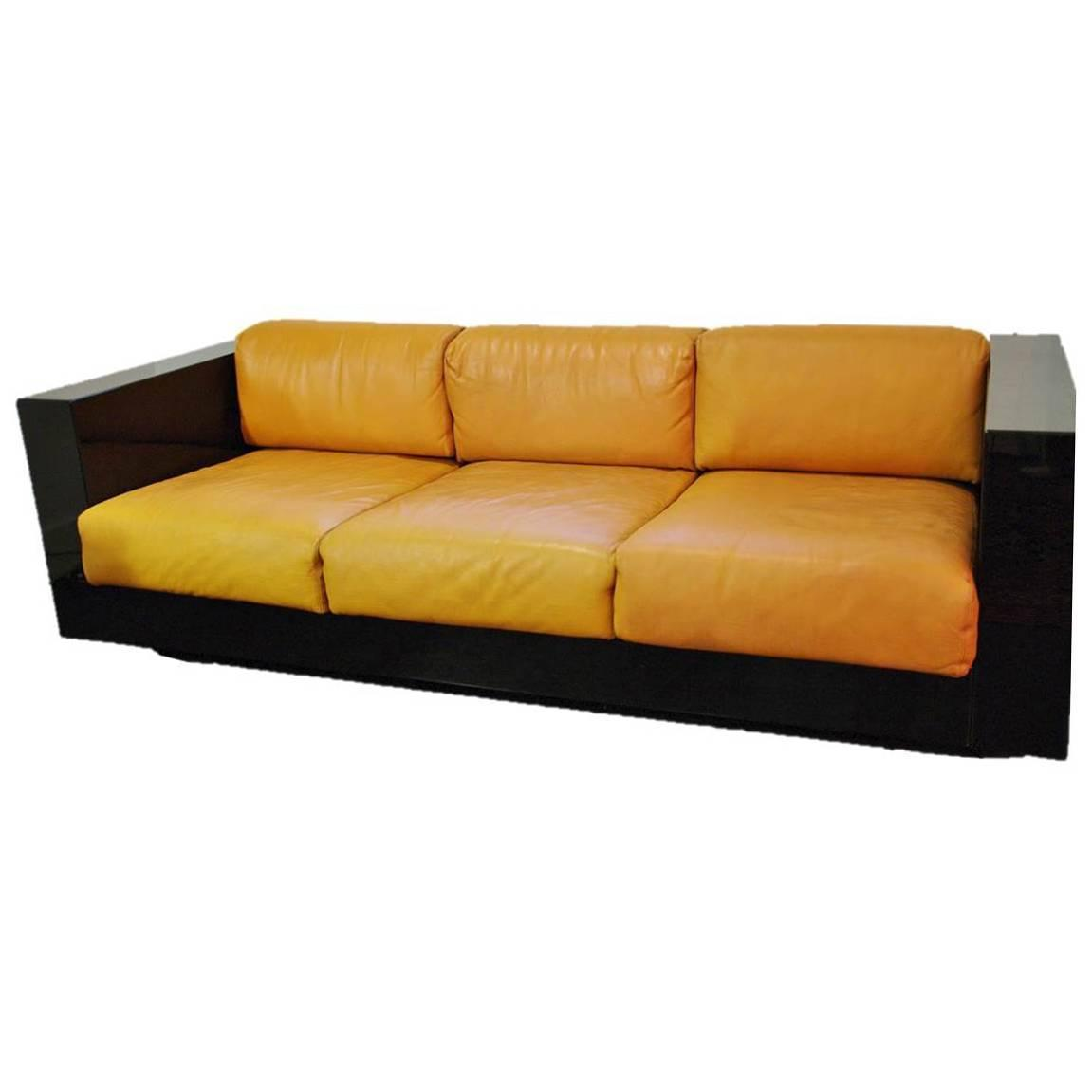 Saratoga By Poltronova Sofa Design By Massimo Vignelli 1964 At 1stdibs