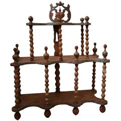 18th Century Folk Art Shelf