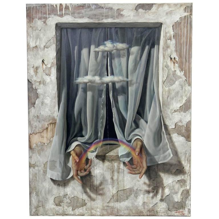 Surrealist Painting by Alex Alemany