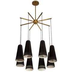 G.C.M.E Eight-Arm Chandelier