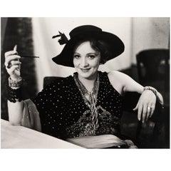 Marlene Dietrich Framed Silver Gelatin Photograph by Alfred Eisenstaedt, 1928