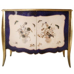 French Louis XV Style Serpentine Commode