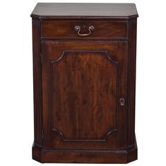 George III Antique English Mahogany Cabinet, circa 1780