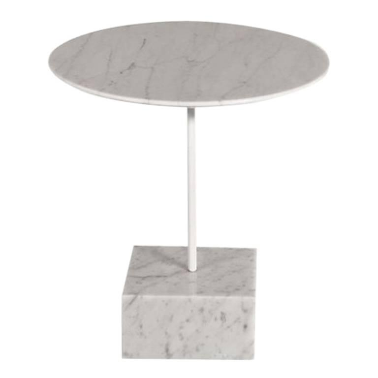 Ordinaire Carrara Marble Table By Ettore Sottsass For Sale