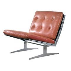 Paul of Leidersdorff Slipper Lounge Chair