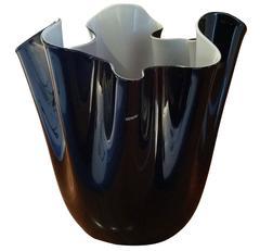 Venini Fazzoletto Vase, Design Fulvio Bianconi, Murano Glass