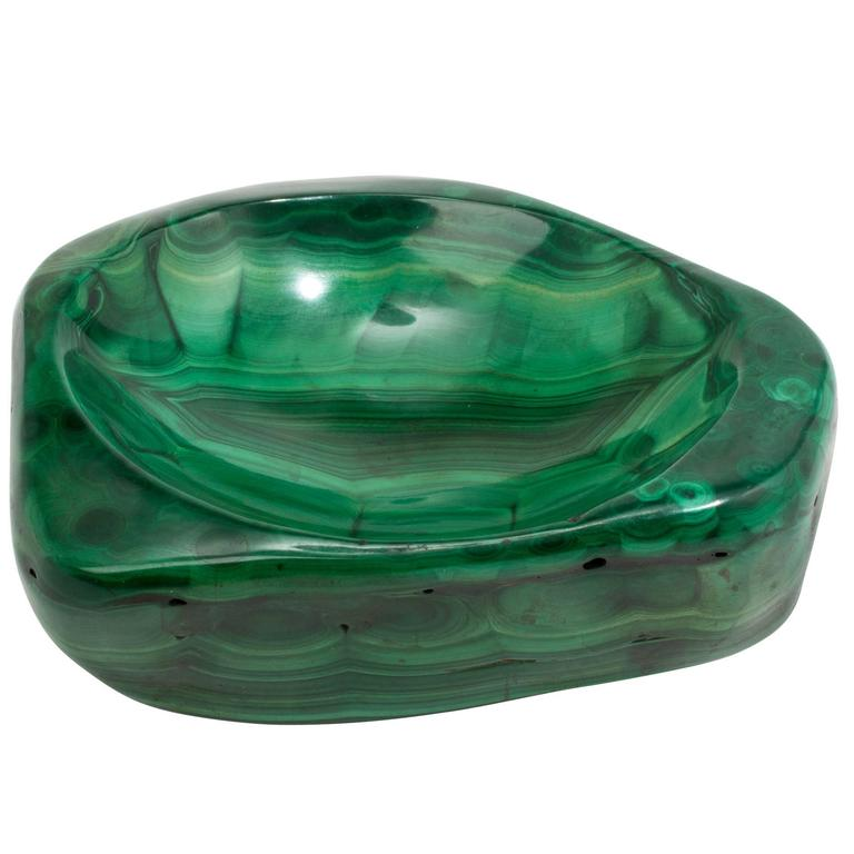 Malachite Specimen Bowl at 1stdi -> Munari Quartz