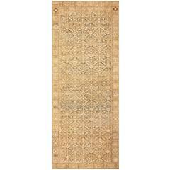 Long Antique Persian Malayer Rug