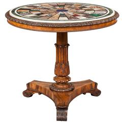 Antique Georgian Centre Table Firmly Attributed to of Gillows of Lancaster