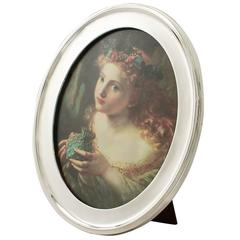 Sterling Silver Photograph Frame - Antique George V