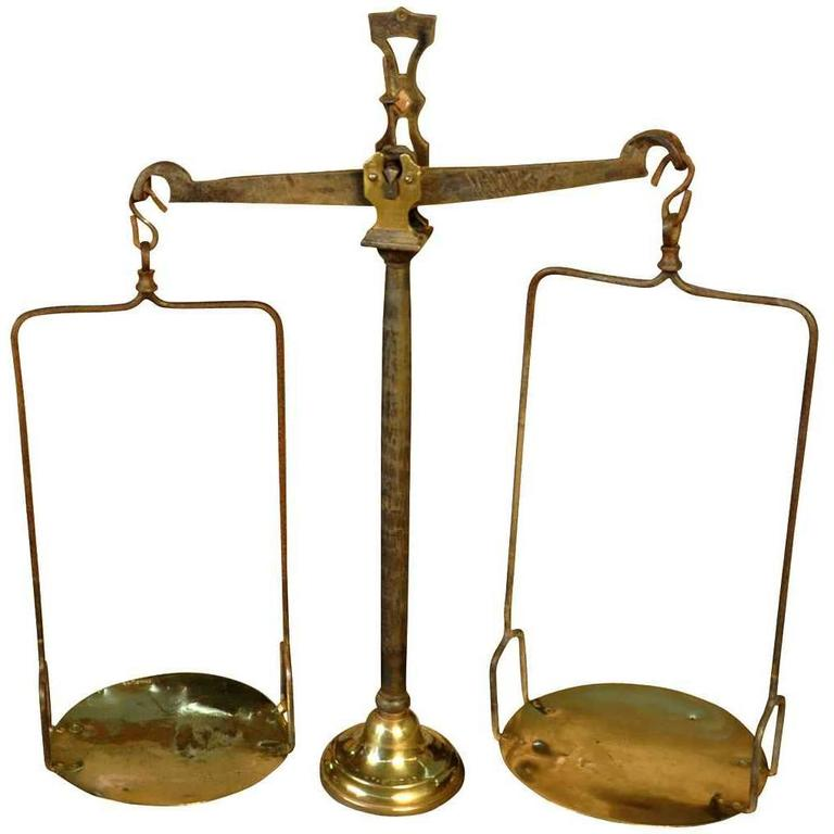 French 18th Century Balance Scale