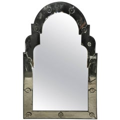 Venetian Style Arched Mirror