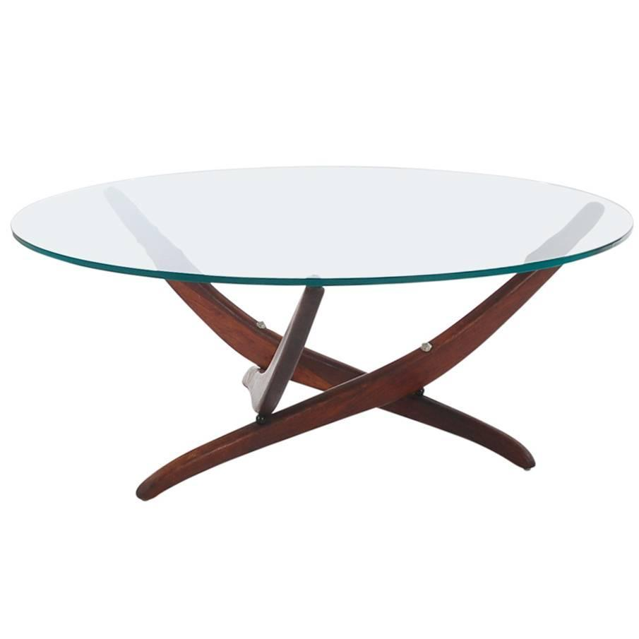 Forest Wilson Mid-Century Modern Sculptural Cocktail Table