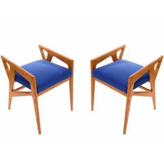 Two Pairs of Stools by Gio Ponti