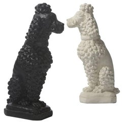 Inner Gardens Cast Stone Poodle