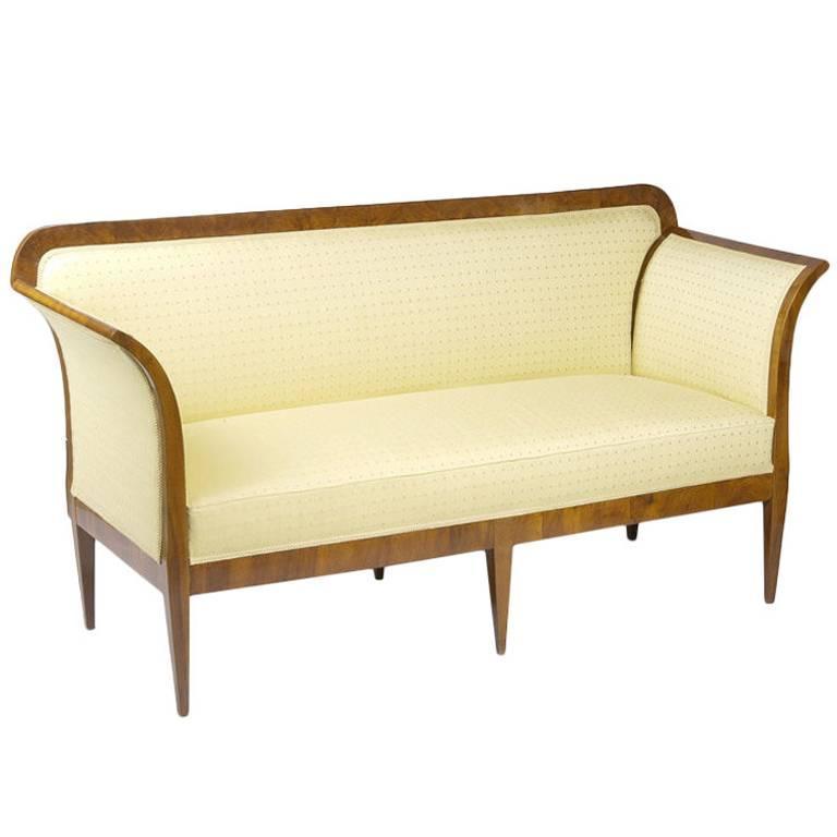 Elegant Convertible Biedermeier Sofa at 1stdibs