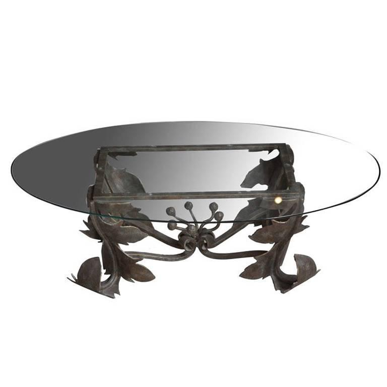 Hand-Forged Low Table