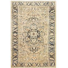 Antique Room Size Persian Serapi Heriz Rug