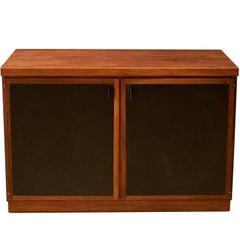 Mid Century Walnut Storage Cabinet