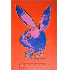 Andy Warhol Playboy 35th Anniversary Poster
