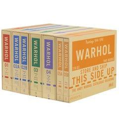Andy Warhol Catalogue Raisonné Collection Volumes 1-5