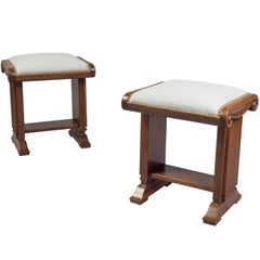 Pair of Stools, William iv, England, circa 1830