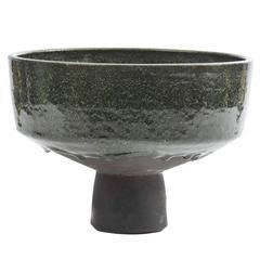 Green Ceramic Planter by Groeneveldt