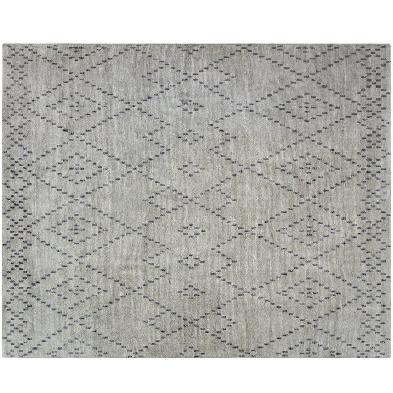 Modern Diamond Pattern Rug For Sale At 40stdibs Cool Diamond Pattern Rug