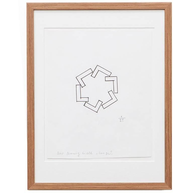 Anton Stankowski Drawing