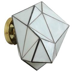 Geo Glass Sconce by Jason Koharik for Collected by