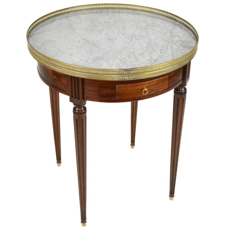 French marble top bouillotte table for sale at 1stdibs for Marble table tops for sale
