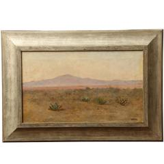California Landscape with Mountains