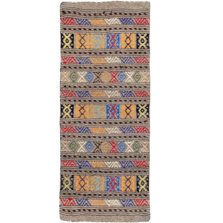 Vintage Turkish Flat Weave Rug: Vintage Turkish Kilim Flat-Weave Rug For Sale At 1stdibs