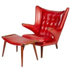 """Hans J. Wegner """"Papa Bear"""" Chair for A.P. Stolen"""