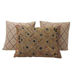 Dark Brown African Boho Chic Decorative Tribal Pillows