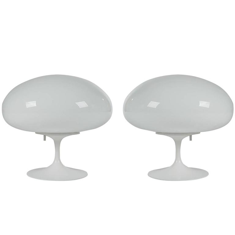 Mid-Century Modern Stemlite Table Lamps by Design Line after Laurel For Sale