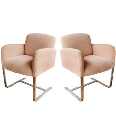 Pair of Donghia Armchairs