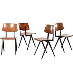 Galvanitas Industrial Plywood Chairs S16, Netherlands