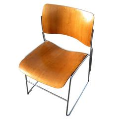 Mid-Century GF Rowland 40/4 Stacking Chair