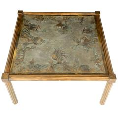 Unique Urn Motif LaVerne Coffee Table