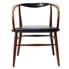 Mid-Century Danish Desk or Side Armchair