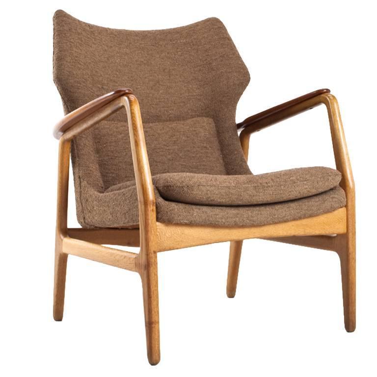 1960s Missoni Wingback Chair At 1stdibs: Aksel Bender Madsen Bovenkamp Wingback Lounge Chair, 1960s