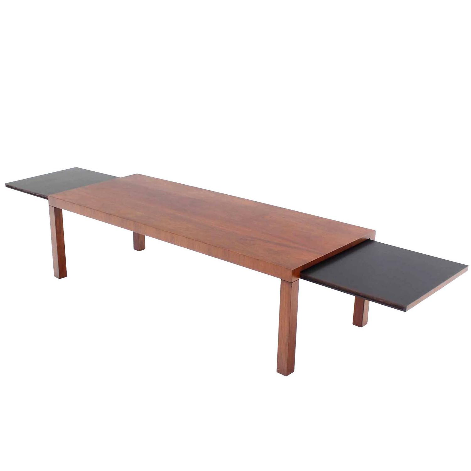 Mid Century Modern Expandable Walnut Coffee Table By Directional For Sale At 1stdibs