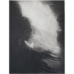 John Martin, Satan Viewing The Ascent To Heaven, Mezzotint, 1827