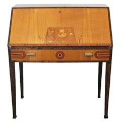 Art Deco Secretaire by Ferdinand Lundquist, Sweden, circa 1930