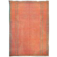 Early 20th Century Saveh Kilim Rug For Sale At 1stdibs