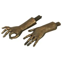 Pair of Sculptured Hands