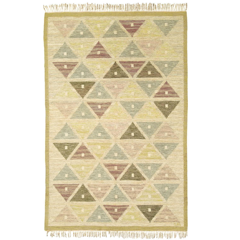 Mid-20th Century Swedish Flat-Weave Carpet by Sigvard Bernadotte